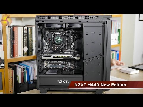 Nzxt h440 razer edition mid tower case review nzxt h440 razer - Search Result Youtube Video Gabinete Nzxt H440 Black Blue