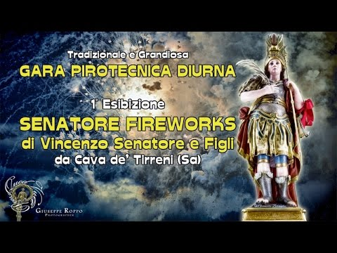 ADELFIA (Ba) - SAN TRIFONE 2016 - SENATORE FIREWORKS da Cava de' Tirreni (Sa) - diurno