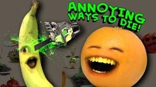 Annoying Orange - Annoying Ways To Die (Dumb Ways To Die Parody)