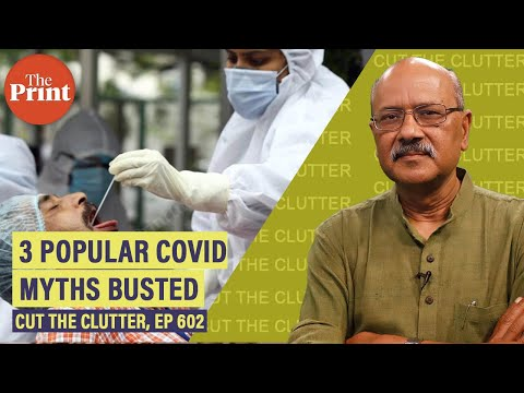 Busting 3 new Covid myths: Remdesivir, plasma & age-death link. Meaning of India's falling numbers