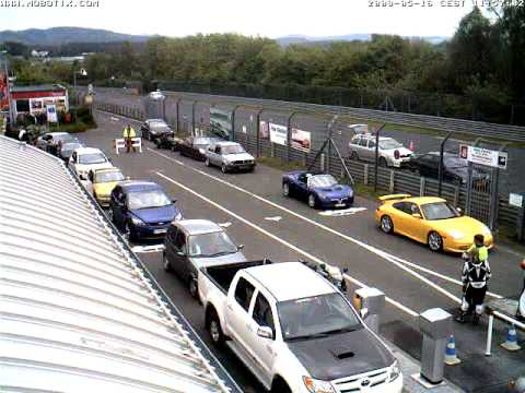 Nurburgring Webcam Timelapse taken 16th May 2009