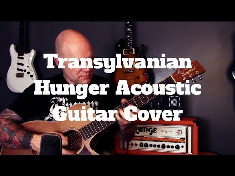 Darkthrone – Transylvanian Hunger Acoustic Guitar Cover