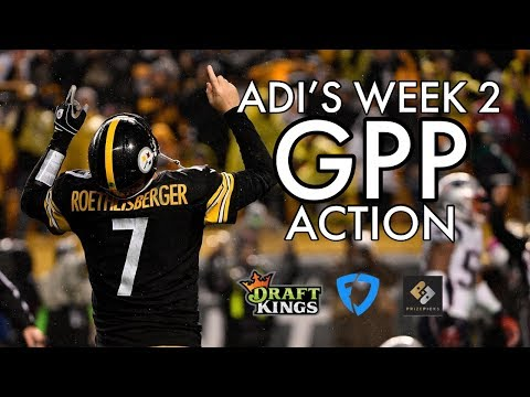 Adi's Action - NFL Week 2 GPP plays for DraftKings and FanDuel