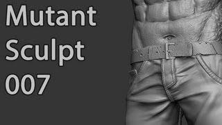 Zbrush Character Sculpt - Mutant 007