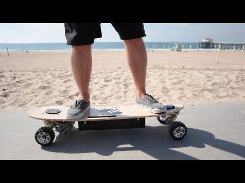 Dude, this skateboard of the future rocks. Thanks in part to 3D printing.