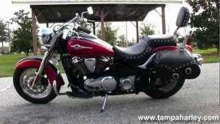 6. Used 2006 Kawasaki VN900 Vulcan Classic with Dual Chrome Exhaust