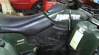 8. Arctic Cat 700 Diesel Turbo, plastics on