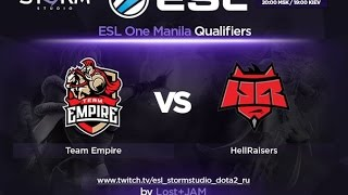 Empire vs HR, game 3