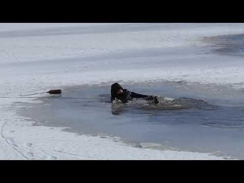Atrasties uz ledus ir bīstami!