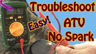 5. DIY How to Troubleshoot & Repair a No Spark Condition on a Polaris Sportsman ATV  Repair Manual