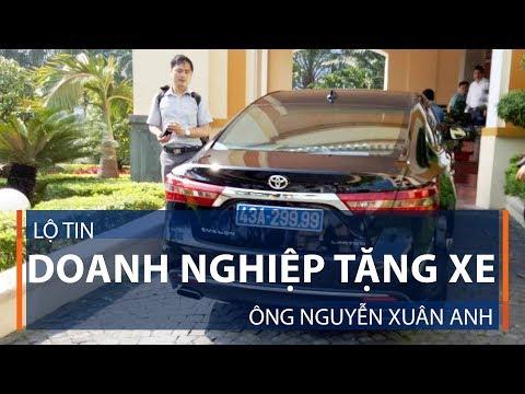 Lộ tin doanh nghiệp tặng xe ông Nguyễn Xuân Anh | VTC1 - Thời lượng: 2 phút, 20 giây.