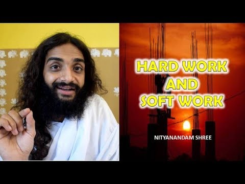 Diet plans - HARD WORK AND SOFT WORK BY NITYANANDAM SHREE