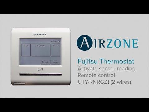 Fujitsu Thermostat: Activate sensor reading