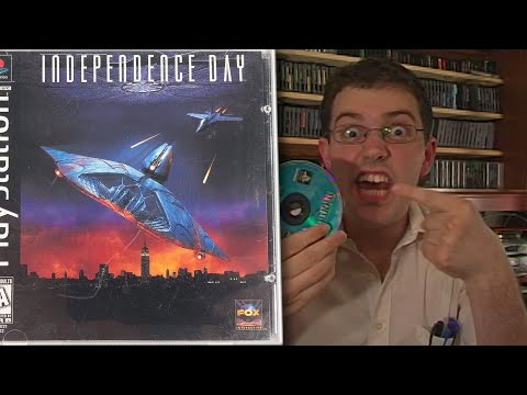 Independence Day - The Angry Video Game Nerd (Episode 29) Independence Day http://cinemassacre.com/ https://twitter.com/cinemassacre https://twitter.com/Mike_Matei http://cinem...