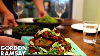 Spicy Chicken Wings, Thai Green Curry Rice & Green Beans with Chilli Peanut Dressing | Gordon Ramsay by Gordon Ramsay