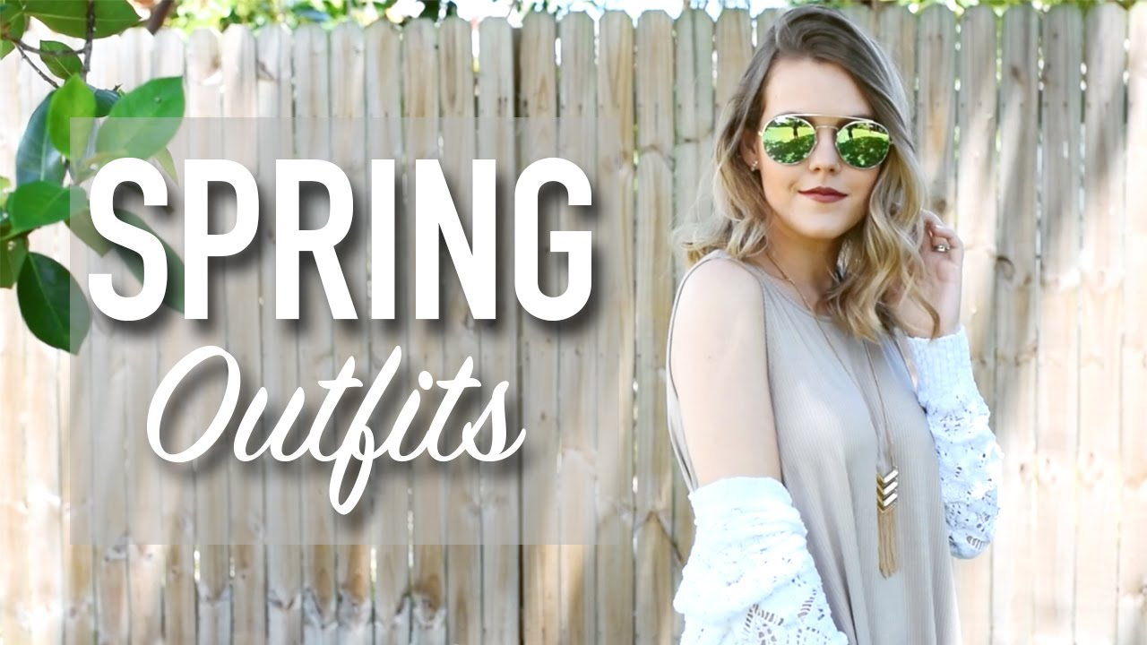 5 Spring Looks in 2 Minutes || Style by JD