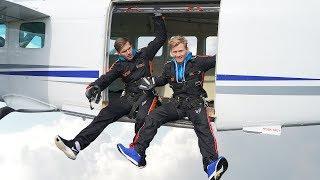 SKYDIVING CHALLENGE - First time skydiving #169 (4K) by Magnus Midtbø