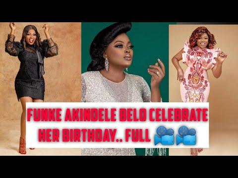FUNKE AKINDELE BELO's HUBBY CELEBRATE HER BIRTHDAY WITH SWEET WORDS.. FULL 📽️ 📽️