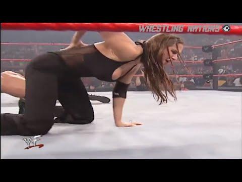 The Rock VS Stephanie McMahon 720p HD