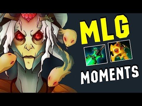 MLG moments vol.4 (Монтаж Дота 2) (видео)