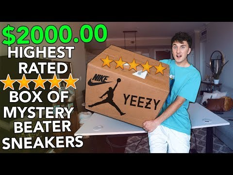 Unboxing A $2000.00 HIGHEST RATED Box Of Mystery