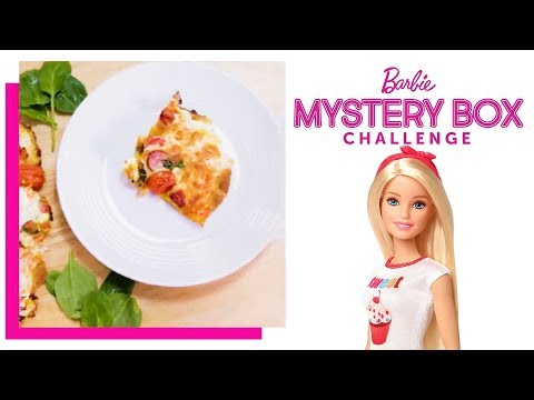 Pizza Challenge | Barbie's Mystery Box Challenge | Barbie