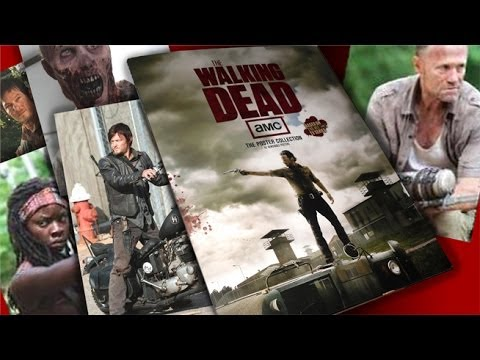 The Walking Dead Poster Collection Book Review
