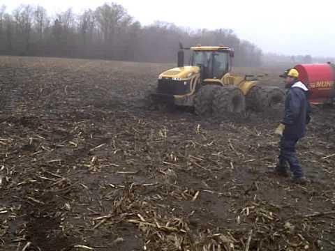 440 hp tractor stuck