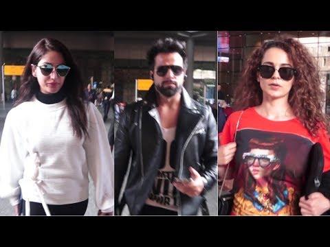 Yami Gautam, Rithvik Dhanjani & Kangana Ranaut Spotted At Airport