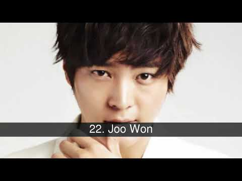 The best actors in Korean