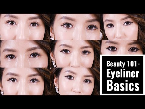 八種眼線基礎教學Beauty 101-Eyeliner Basics