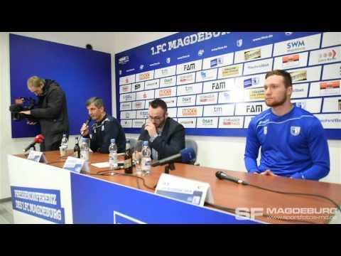 Video: Pressekonferenz vor dem Spiel - VfL Osnabrück gegen 1. FC Magdeburg