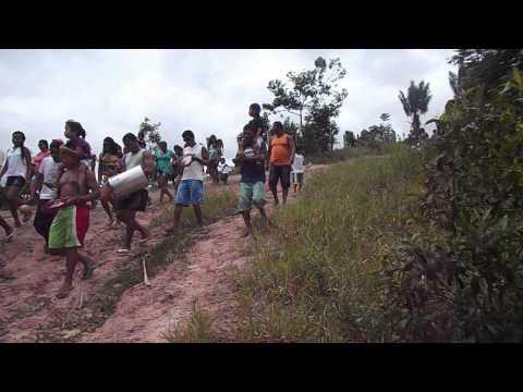 Festa de São Sebastião na aldeia Indígena Pataxó Boca da Mata.