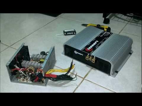 Como instalar Amplificador automotivo e regular Crossover