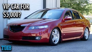 Acura TL Review! The Best First Car Ever For Under $10,000? by That Dude in Blue