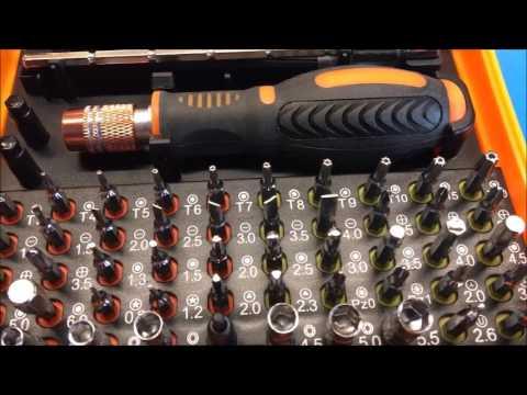 Banggood - JAKEMY 53 in 1 Multi-Bit Precision Torx Screwdriver Tweezer Phone Repair Tool