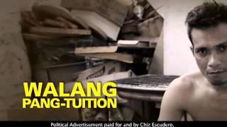 CHIZ ESCUDERO WALANG PANG TUITION 15s