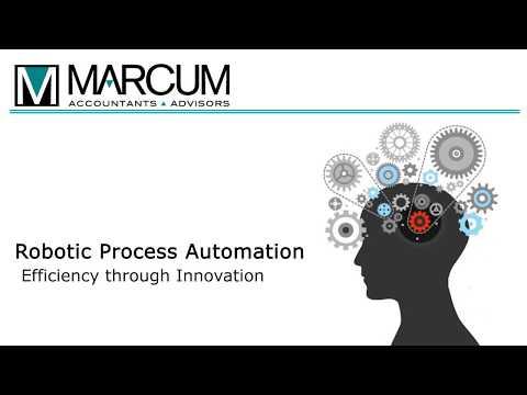 Marcum LLP's Robotic Process Automation Services