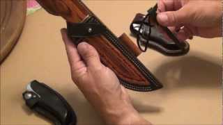Mike's Custom Leather Knife Sheath Project Part 1