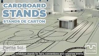CartonLab ecodiseño, stands y muebles de cartón