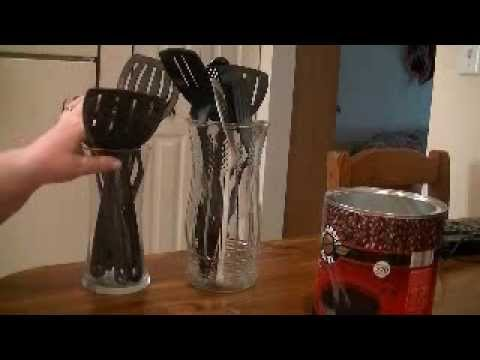 Kitchen Utensil Holder (idea In A Minute)