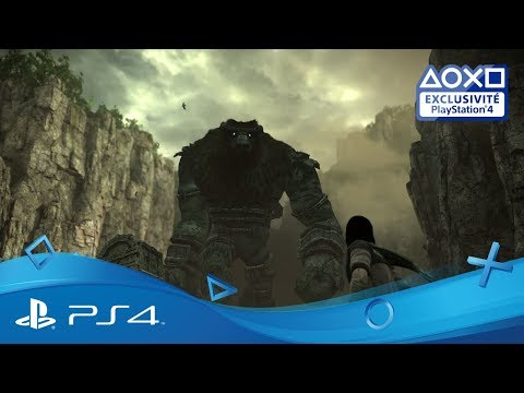 [4K] Shadow of the Colossus - Trailer TGS 2017   Disponible   Exclu PS4