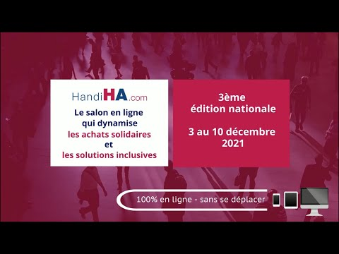 Video Vidéo de présentation HandiHA 2021