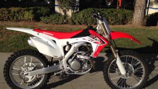 10. 2014 Honda CRF450R Red