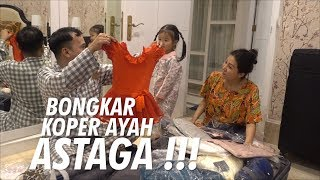 "Video The Onsu Family - Bongkar Koper Ayah ""ASTAGA"" MP3, 3GP, MP4, WEBM, AVI, FLV Juni 2019"