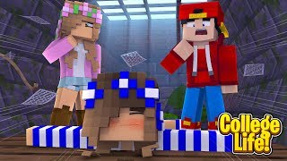 WHO GETS KILLED?! MURDER MYSTERY | Minecraft | College Life | Little Kelly & Ropo