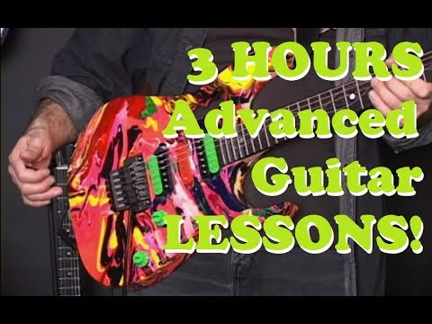 3 HOURS GUITAR LESSONS! Ultimate Rock Guitar Complete Method – Beginner to Advanced
