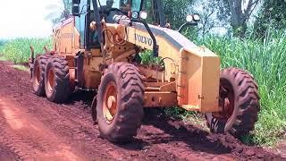 Recuperação das estradas vicinais do município de Dourados