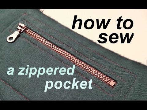 Video DIY ✂ How to sew a zippered pocked ✂ Jak uszyć kieszonkę na zamek download in MP3, 3GP, MP4, WEBM, AVI, FLV January 2017
