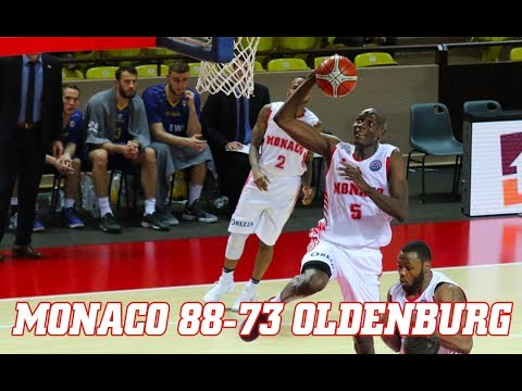 BCL — Monaco 88 - 73 Oldenburg — Highlights